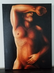 """Prometheus."" Oil on canvas 18x24"