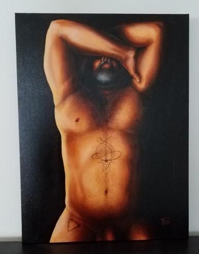 """Oceanus"" Oil on canvas, 18x24"